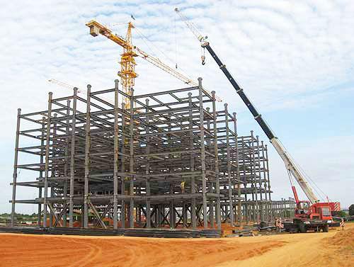 多高层钢结构1 - 泉州华力钢结构工程有限公司